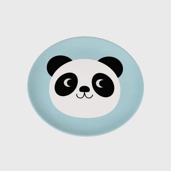 Plato melamina miko the panda