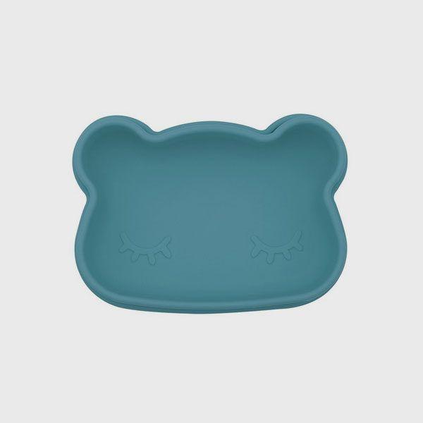 Cajita de almuerzo oso we might be tiny azul oscuro