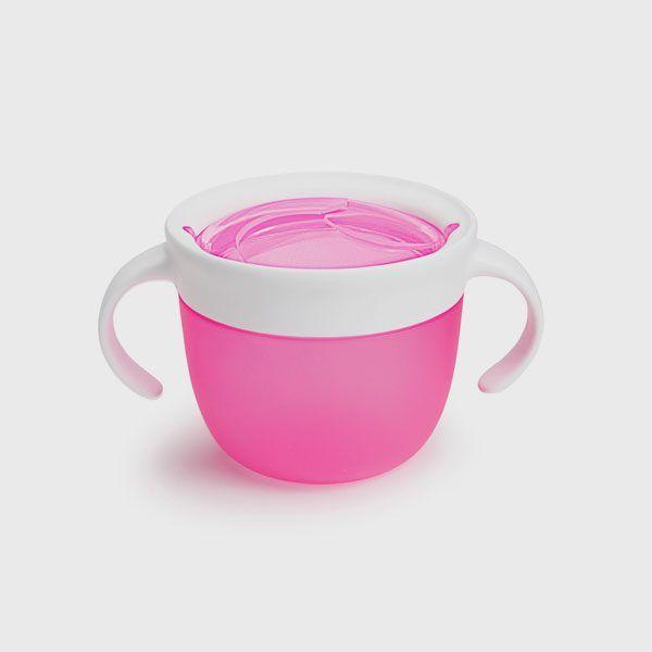 Dispensador de merienda rosa