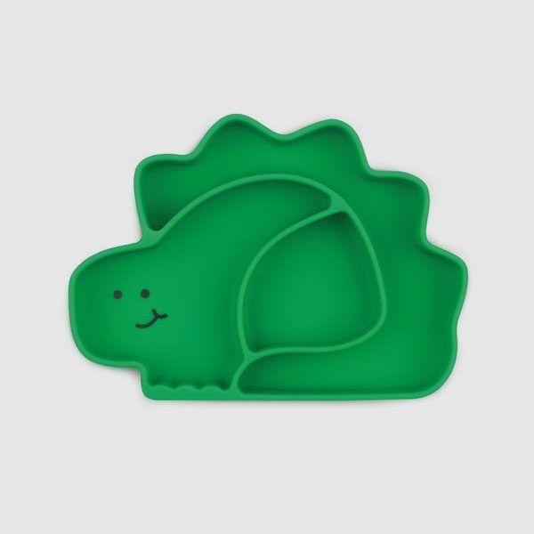 Plato dinosaurio con ventosas