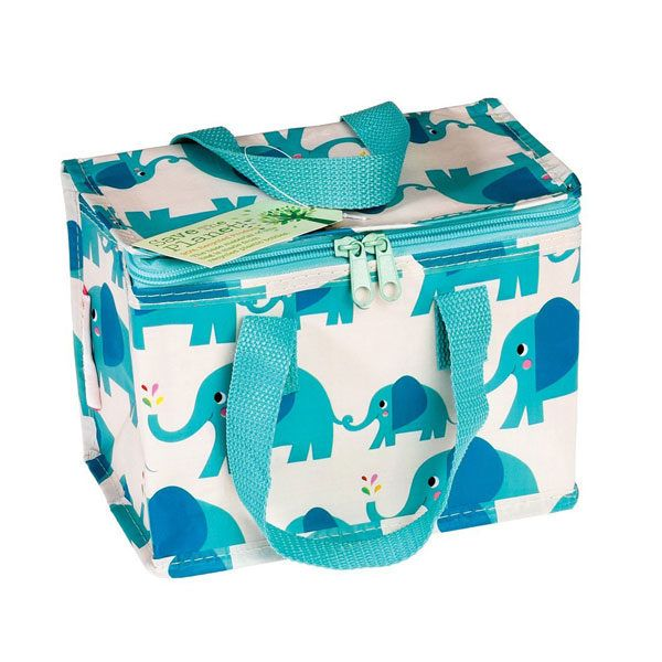 Bolsa térmica bebe con dibujos de elefante
