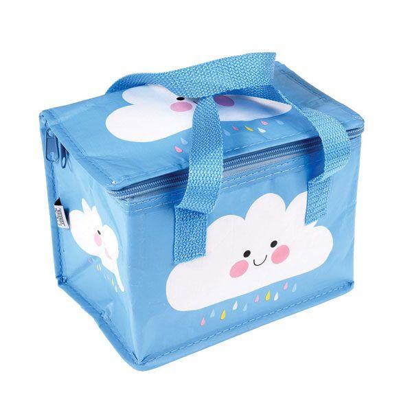 bolsa térmica para bebé con un dibujito de una nube