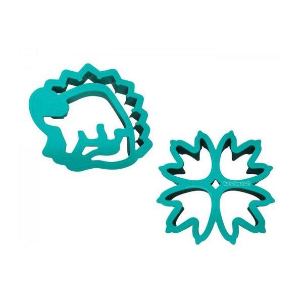 Molde en forma de dinosario