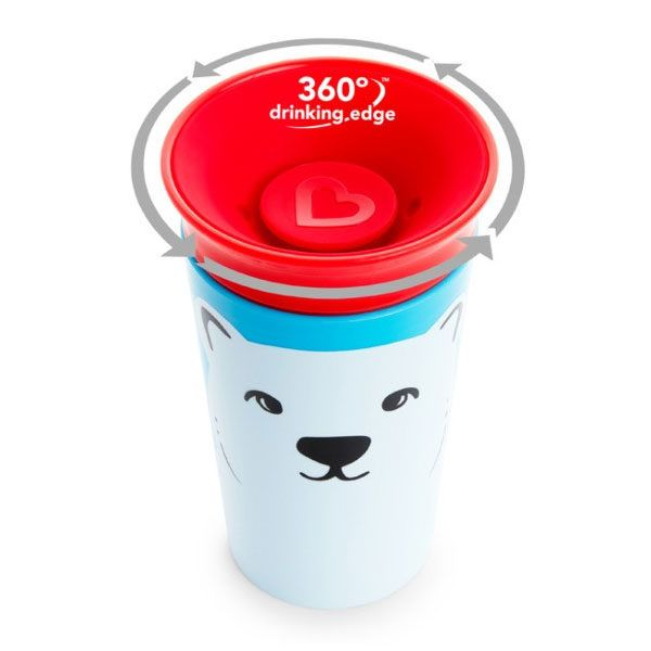 Taza antiderrame del animal Oso Polar