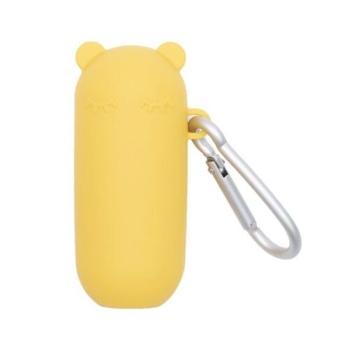 Portador de pajita marca Keepie amarillo