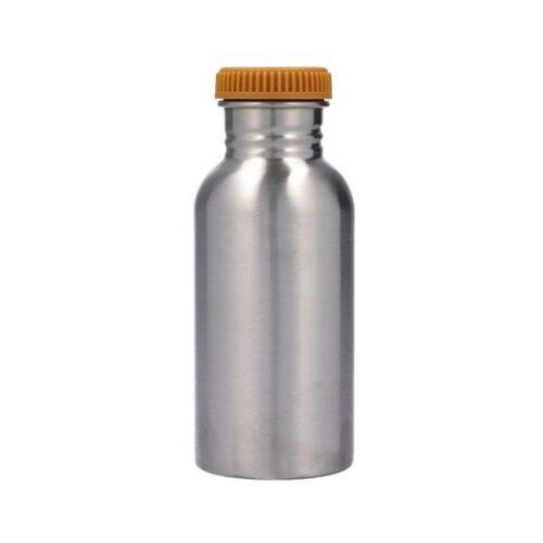 Botella de acero funda arcoiris