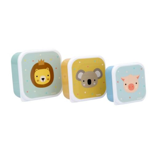 Cajas de almuerzo de animales