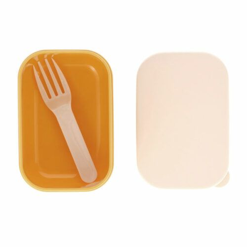 Caja almuerzo puntitos mostaza